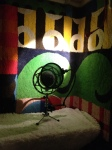 Microphone and light